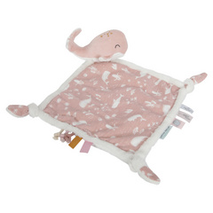 Cuddle cloth Whale Little Dutch - Ocean Pink