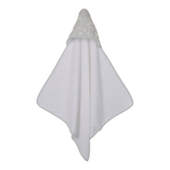Hooded towel Little Dutch - Adventure Grey