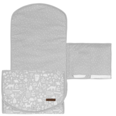 Changing pad comfort Little Dutch - Adventure Grey