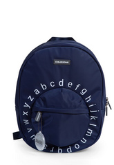 Childhome Kids School Backpack ABC - Navy White