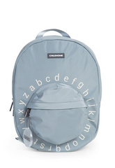 Childhome Kids School Backpack ABC - Grey Off White