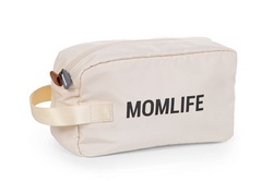 Childhome Momlife Toiletry Bag - Off White Black