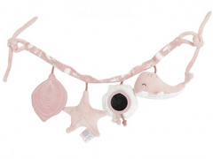 Stroller toy chain Little Dutch - Ocean Pink