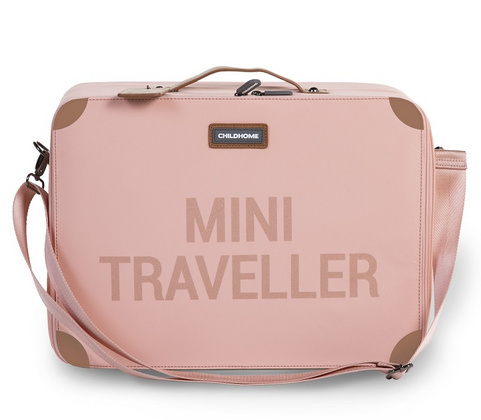 Childhome Mini Traveller Kids Suitcase - Pink Copper