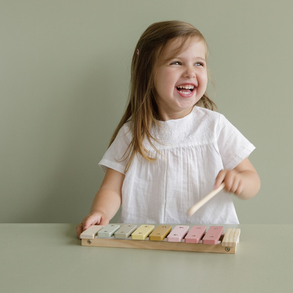 Xylophone Little Dutch - Pink