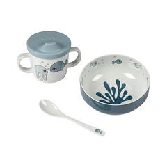 Done by Deer® First meal set Sea friends Blue