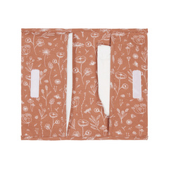 Nappy pouch Little Dutch - Wild Flowers Rust
