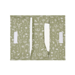 Nappy pouch Little Dutch - Wild Flowers Olive