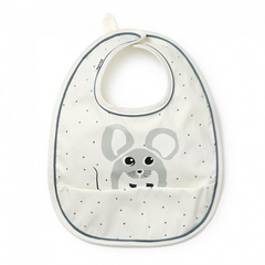 Elodie Baby Bib Forest Mouse Max