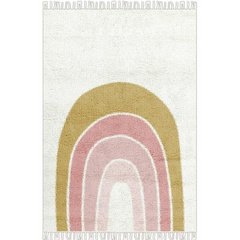 Little Dutch Washable rug Rainbow pink Pure & Nature