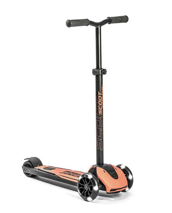 Scoot&Ride Kickboard Highwaykick 5 LED - Peach