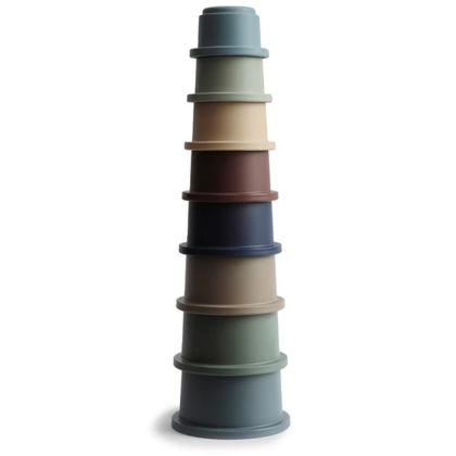 Mushie® Stacking Cups Toy Forest