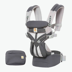 Ergobaby Omni 360 Baby Carrier All-In-One Cool Air Mesh - Carbon Grey