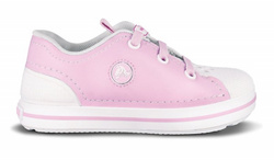 Crocs sneak kids pink bublle gum