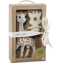 So Pure Sophie la girafe with Natural Teether Set
