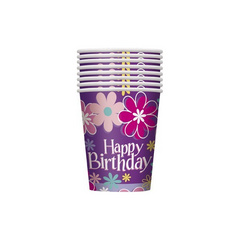 paper cups for birthday