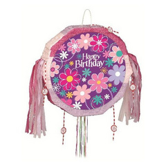 Birthday Blossom pinata for your party.