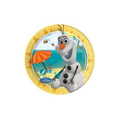 Olaf paper plates