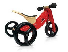 Kinderfeets Tiny Tot balance bike 2v1