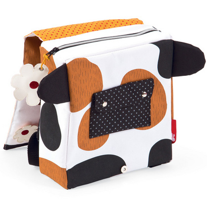 janod backpack cow