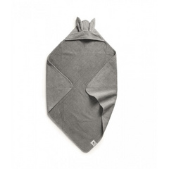 Hooded Towel Marble Grey - Elodie Details