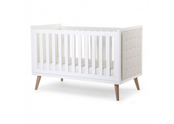 The Retro Rio White babybed