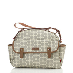 Molly Grey Floral Dot