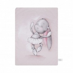 Double blanket Effiki Dancing ballerina 70x100cm