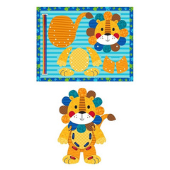 Lacing Puzzle Lion