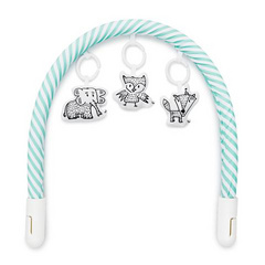 Sleepyhead® toy bar - aqua&white