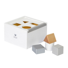 BamBam Wooden Block Box