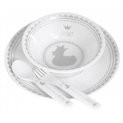 BamBam royal baby dinner set