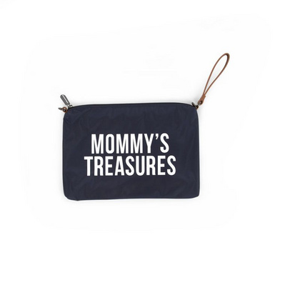 Mommy Treasures Navy-White