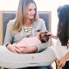 Ergobaby nursing pillow curve