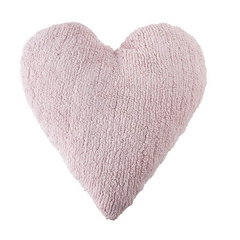 Washable Cushions Lorena Canals Heart Pink