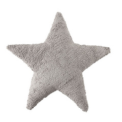 Washable Cushions Lorena Canals Star Light Grey