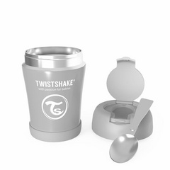Twistshake® termo posuda za hranu 350ml grey
