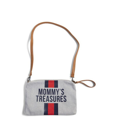 Mommys Treasures - Canvas Grey Red/Blue