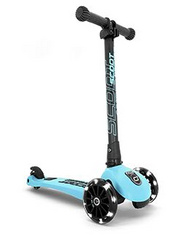 Romobil Scoot&Ride Highwaykick 3 LED - Blueberry
