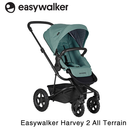 Sportska kolica Easywalker Harvey 2 All-Terrain - Coral Green