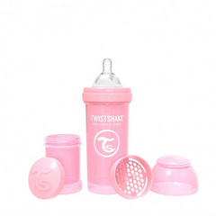 Twistshake® Anti-Colic Pastel Pink 260ml