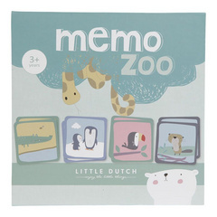 Igra memorije Little Dutch - Memo Zoo