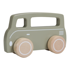 Drveni kombi Little Dutch - Olive