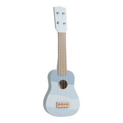 Drvena dječja gitara Little Dutch - Blue NOVA