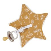 Little Dutch Pacifier cloth - Wild Flowers Ochre