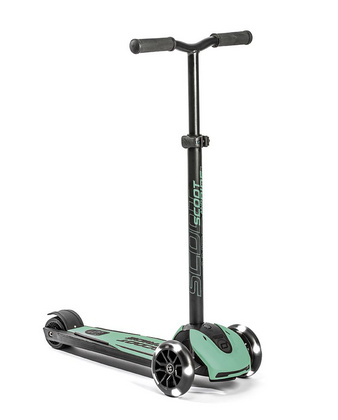 Scoot&Ride Romobil Highwaykick 5 LED - Forest