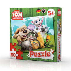 Talking Tom & friends puzzle