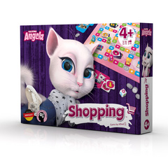 Talking Tom & friends društvena igra shopping.