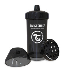Twistshake® Kid cup 360ml Black