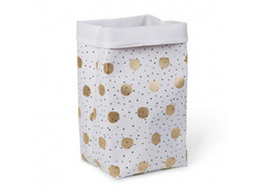 Childhome kutija White Gold Dots 60x32x32 cm